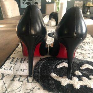 "Christian Louboutin 38.5 4"" Heels Like New"
